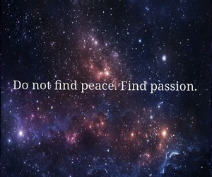 book, passion, and peace image