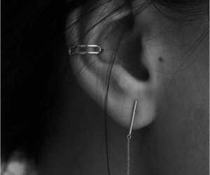 ear, Get, and piercing image