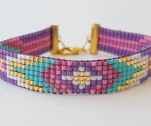 etsy, woven bracelet, and best friend gift image