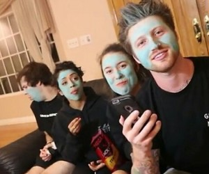 blue, scotty sire, and david dobrik image