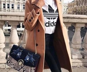 adidas, coat, and fashion image