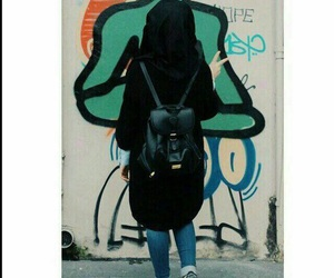 girl, بُنَاتّ, and hijab image
