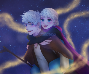 fan art, cute\, and jelsa image