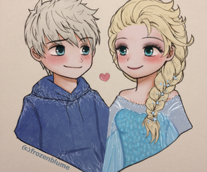 chibi, jelsa, and fan art image