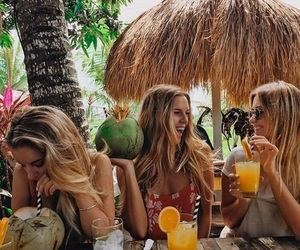 summer, tropical, and friends image