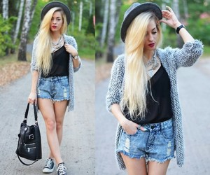 shorts, summer, and summer outfit image