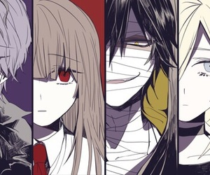 satsuriku no tenshi, ib, and anime image