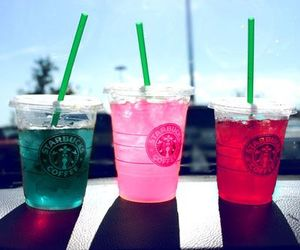 starbucks, drink, and summer image