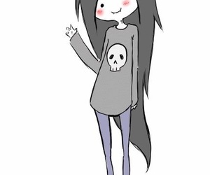 marceline, adventure time, and gif image