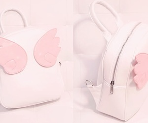 pink, kawaii, and bag image
