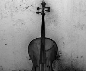 music, cello, and violin image