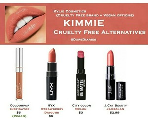 beauty, lipstick, and NYX image