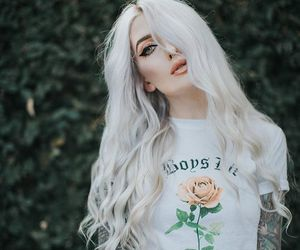 beauty, kimberryberry, and white hair image
