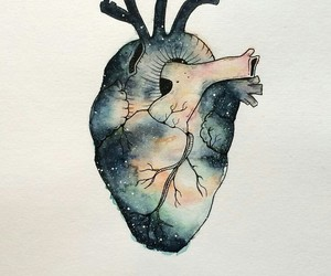 heart, draw, and drawing image