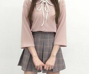 fashion, clothes, and korean image