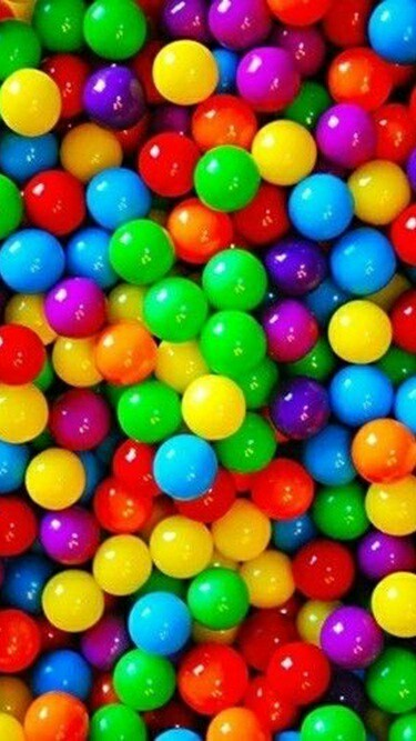 candy, colors, and gum image