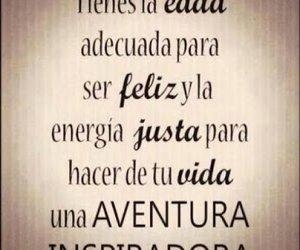 aventura, vida, and feliz image