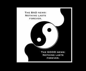 black and white, dark, and ying yang image