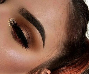 glitter, matte, and brown image