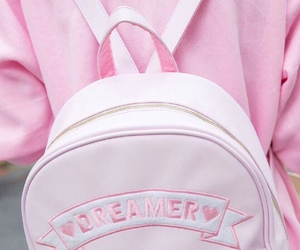 pink, bag, and dreamer image