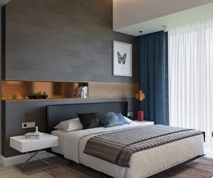 bedroom, decoration, and style image