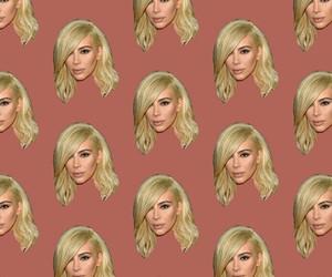 kim kardashian, pattern, and wallpaper image