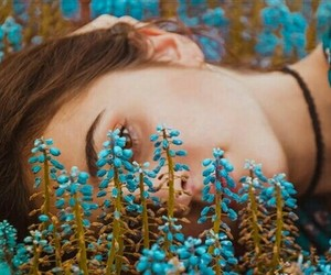 beauty, blue, and Dream image