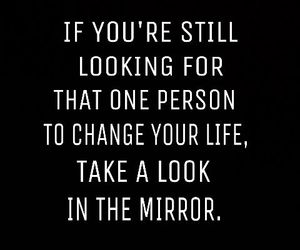 mirror, quote, and life image