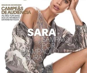 sara sampaio, bella colwen, and vogue brasil image