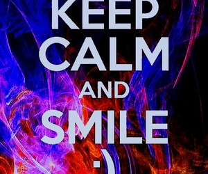 happy, keep calm, and positive image