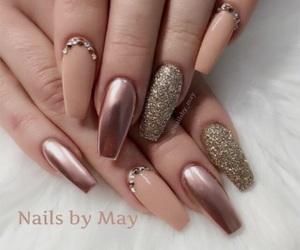 inspiration, metallic, and nails image