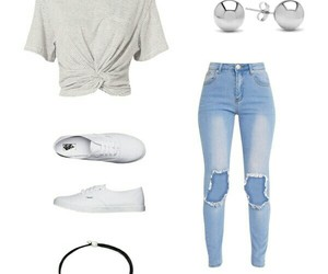 Polyvore and vans image
