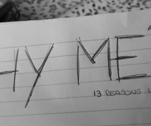 series, 13 reasons why, and netflix image