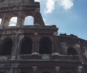 colosseum, europe, and rome image