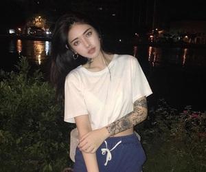 korean, Tattoos, and ulzzang girl image