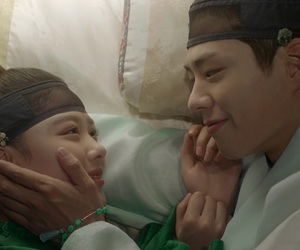 kim yoo jung, love in the moonlight, and park bo gum image