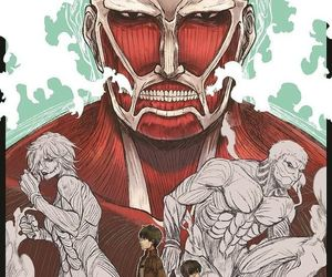 anime, attack on titan, and snk image