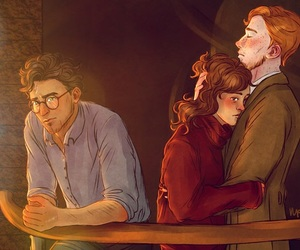 art and harry potter image