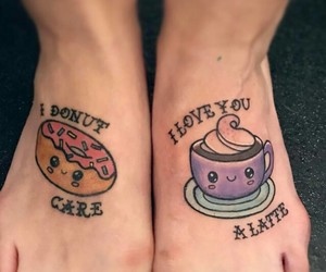 art, body paint, and leg tattoos image