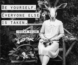 gazelle, oscar wilde, and quote image