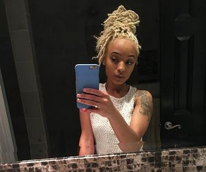 beauty, dreads, and blonde image