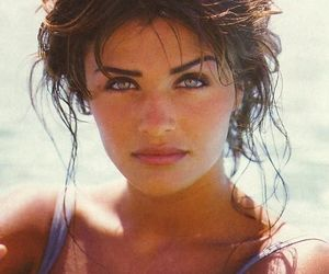 90's, helena christensen, and fashion image