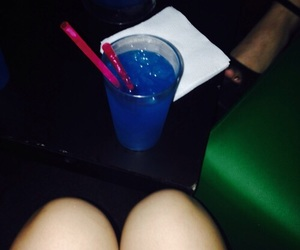 blue, cocktail, and dance image