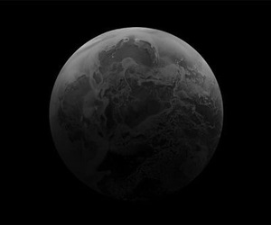 astronomy, black and white, and dark image