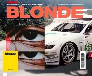 theme, blonde, and frank ocean image
