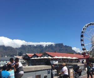 cape town, clouds, and south africa image
