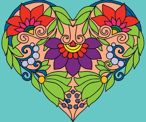 heart with alots of love image