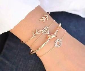 bracelet, jewel, and jewelry image