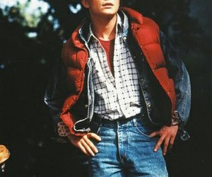 Back to the Future and michael j. fox image
