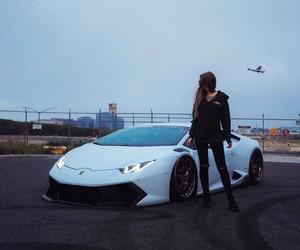 girl, Lamborghini, and huràcan image
